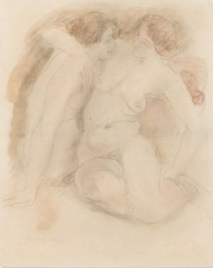 Deux Soeurs by Auguste RODIN