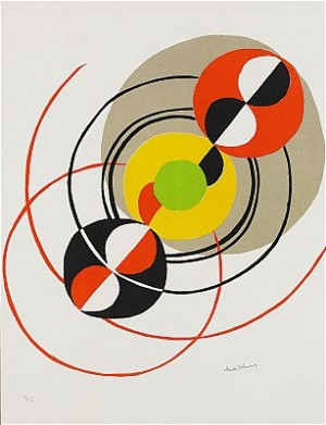 Composition by Sonia DELAUNAY