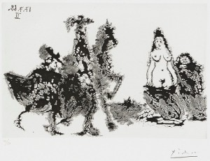 Untitled - Series 347:207 by Pablo PICASSO
