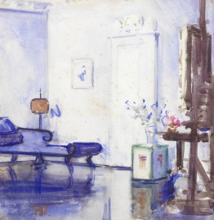 Interior, Ainslie Place by Francis Campbell Boileau CADELL