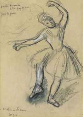 Danseuse by Edgar DEGAS