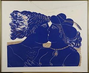 Kärlekspar by Alexandre Alecos FASSIANOS