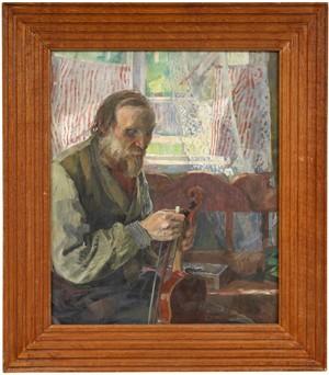 Den Blinde Spelmannen by Carl WILHELMSON