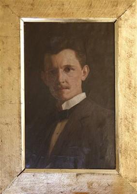 Självporträtt by Emil ÖSTERMAN