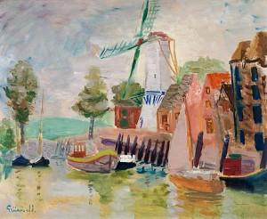 Småbåtshamnen by Isaac GRÜNEWALD