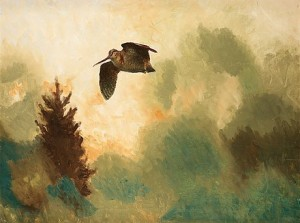 Morkulla I Skymning by Bruno LILJEFORS