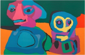 Looking Into The Infinite by Karel APPEL
