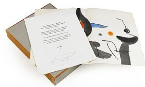 Le Marteau Sans Maitre, Suite Comprising 23 Unsigned Colour Etching/aquatints by Joan MIRO