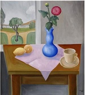 Stilleben Med Rosa Ranunkel by Esaias THORÉN