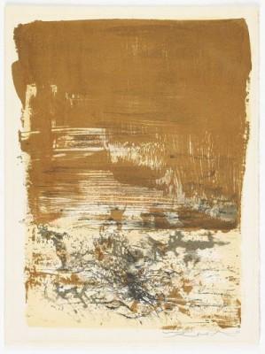 La Tentation De L Occident: One Plate by ZAO WOU-KI