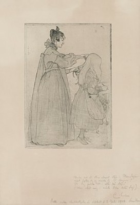 Karin Och Kersti by Carl LARSSON