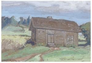 Hus På Prärien by Carl Oscar BORG