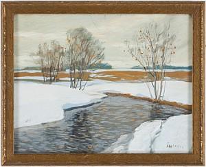 Stilla Vattendrag by Andrei Afanasievich YEGOROV