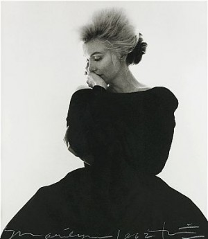 Marilyn Monroe In Vogue - 1962 by Bert STERN
