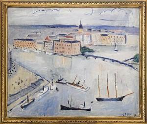 Stockholm - Utsikt Mot Blasieholmen by Einar JOLIN