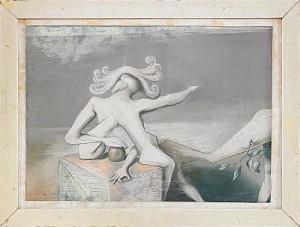 Surrealistisk Komposition by Wilhelm FREDDIE