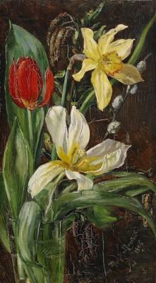 Blomsterstilleben by Anna MUNTHE NORSTEDT