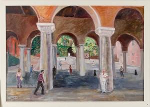Pelargångar, Stadshuset by Margareta CARLSTEDT