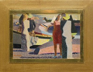 Människor Och Båtar by Waldemar LORENTZON