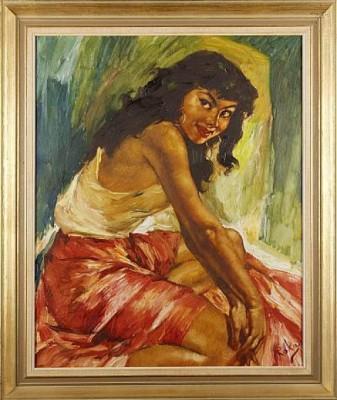 Kvinna by Charles ROKA