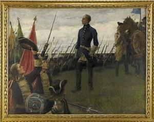 Karl Xii Hyllas by Gustaf CEDERSTRÖM