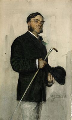 Bankir Ludvig Arosenius by Anders ZORN