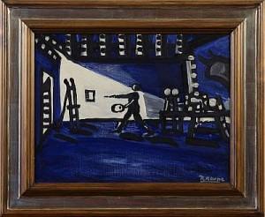 Målarens Ateljé by Roland KEMPE