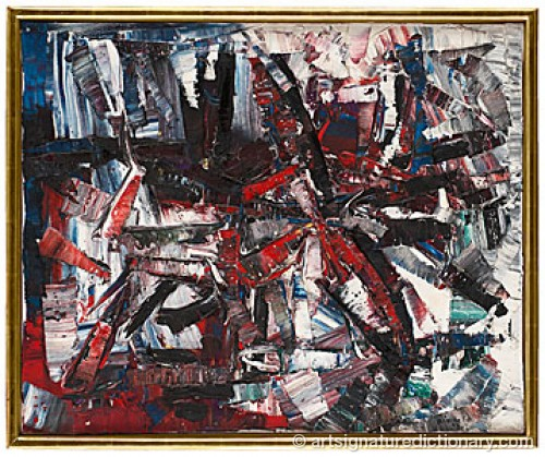 Pelure by Jean-Paul RIOPELLE