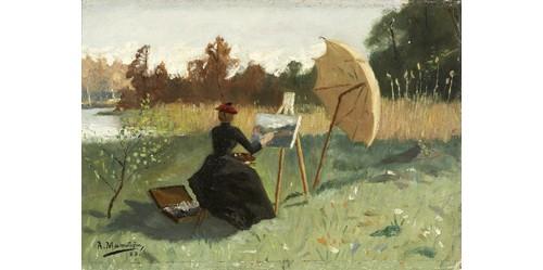 Vid Stafflie by August MALMSTRÖM