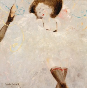 Danseuse De Cancan by Louis ICART