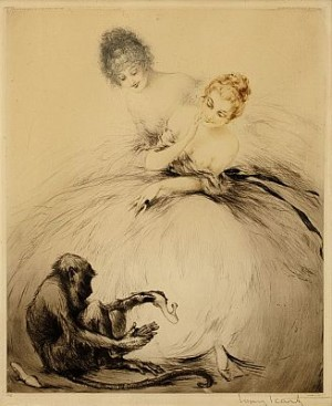 Bewilderment by Louis ICART