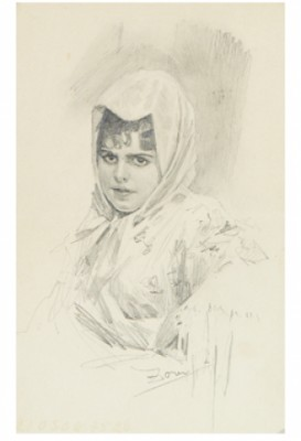 Manuela by Anders ZORN