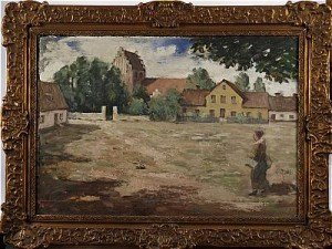 Torget I åhus by Gunnar RUDA