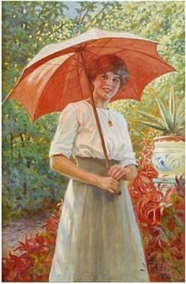 Det Röda Parasollet by Jenny NYSTRÖM