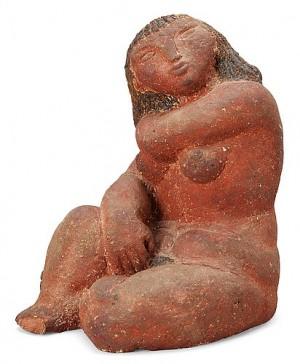 A Stig Lindberg Stoneware Sculpture, Gustavsberg Studio by Stig LINDBERG