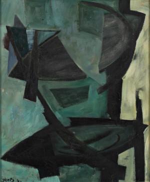 Composition Abstraite by Henri GOETZ
