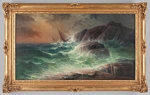 Skeppsbrott by Karl Gustav HOLMBERG
