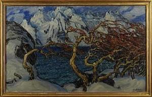 Motiv Från Svolvaer, Lofoten by Anna BOBERG