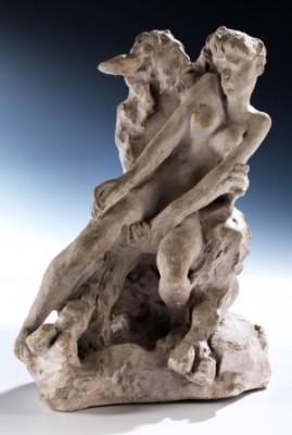 Faun Und Nymphe by Auguste RODIN