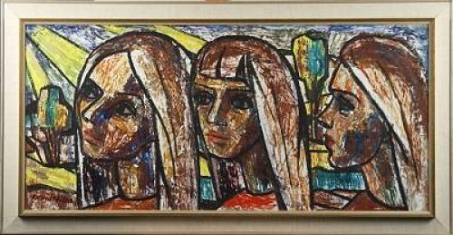 Tre Flickansikten by Arvid NILSSON