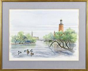 änder I Karlbergskanalen by Ulf ÅLUND