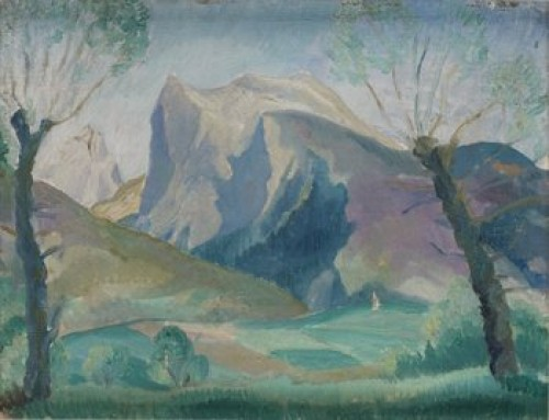 Franskt Landskap by Knut LUNDSTRÖM