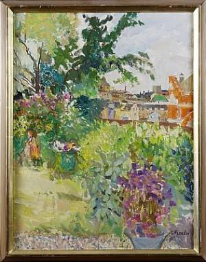 I Trädgården by Lars FLORÉN