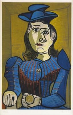 Exposition Picasso, Musée Des Arts Decoratifs, (rodrigo 38) by Pablo PICASSO
