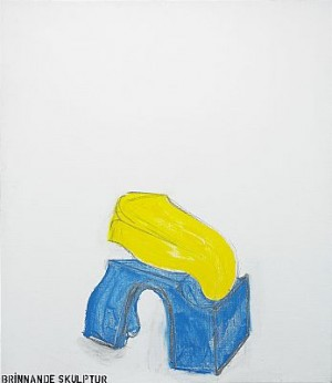 Brinnande Skulptur by Torsten 'Torsten' ANDERSSON
