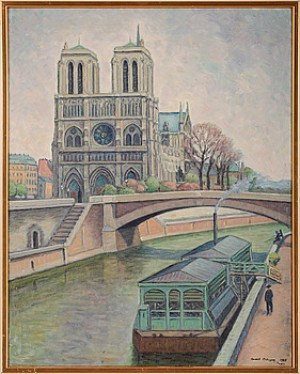 Notre Dame, Paris by Arvid NILSSON