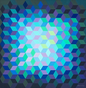 Ion - 11 by Victor VASARELY