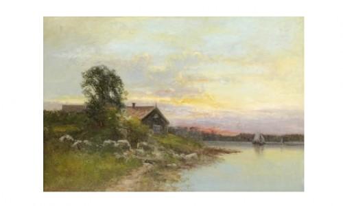 Fiskarstuga I Skärgården by Severin NILSON