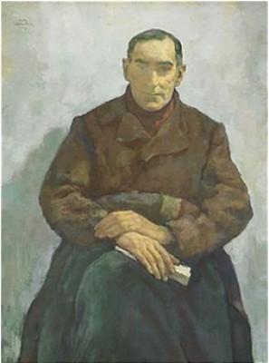 Der Emigrant (dr. Walter Lindenthal) by Lotte LASERSTEIN