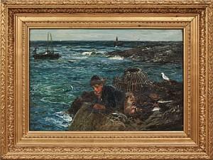 Fiskarfänge by John Robertson REID
